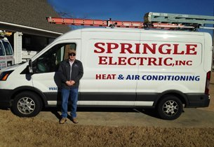 Springle Electric van